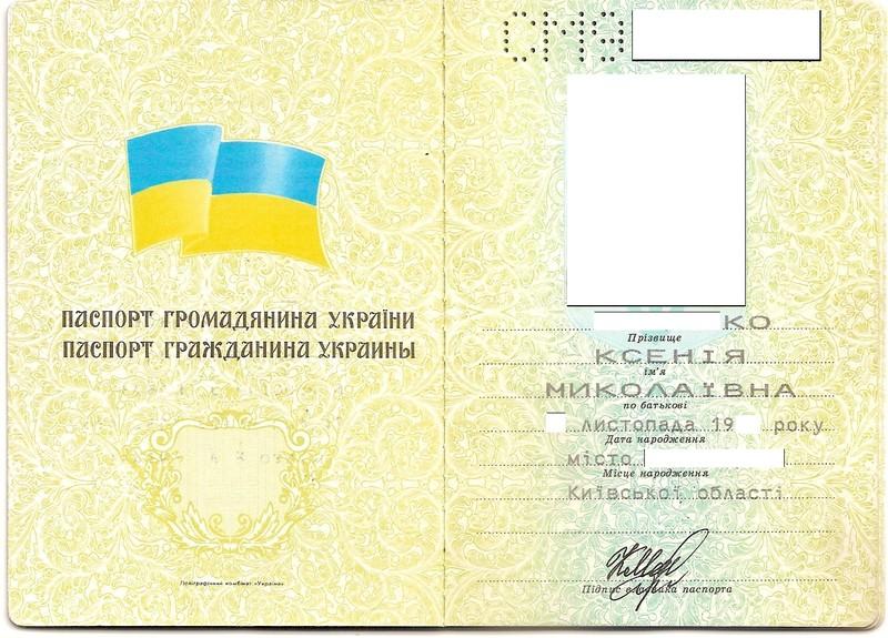 паспорт гражданина украины нового образца - фото 11